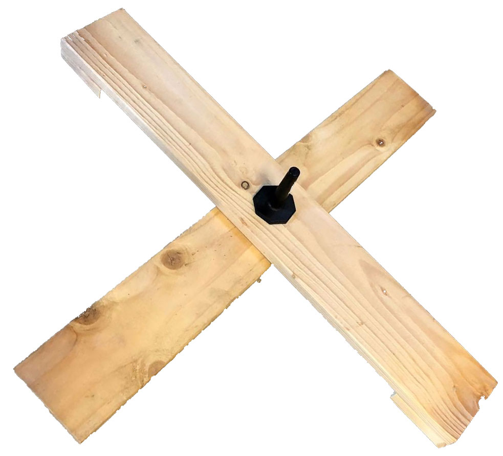 Easyfix standaard hout